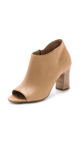 Vic Italy Open Toe Booties