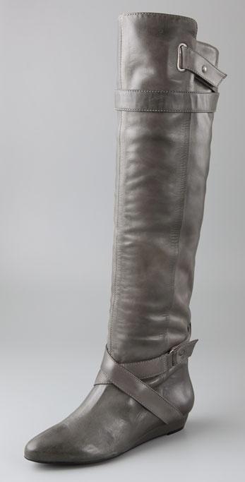 Pour La Victoire Dahlia Over the Knee Boots