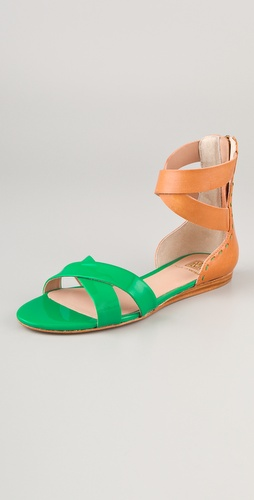 Pour La Victoire Fabia X Band Sandals