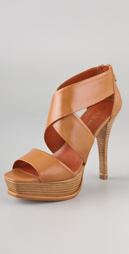 Pour La Victoire Tifara X Band Platform Sandals