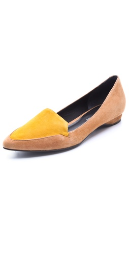 Pour La Victoire Astrid Suede Flats