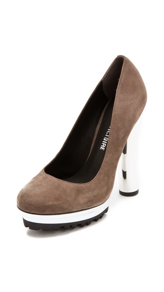 Pour La Victoire Prez Platform Pumps