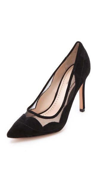 Pour La Victoire Chantel Mesh Pumps