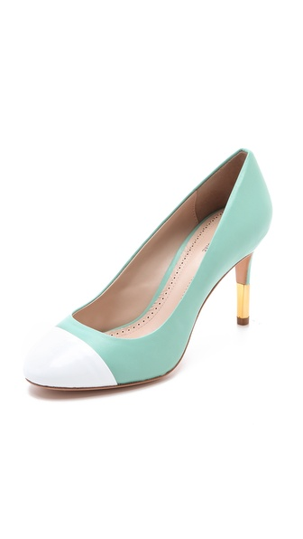 Pour La Victoire Elle Cap Toe Pumps