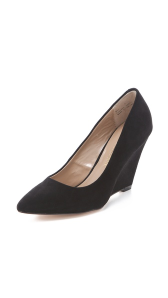 Pour La Victoire Mai Demi Wedge Pumps