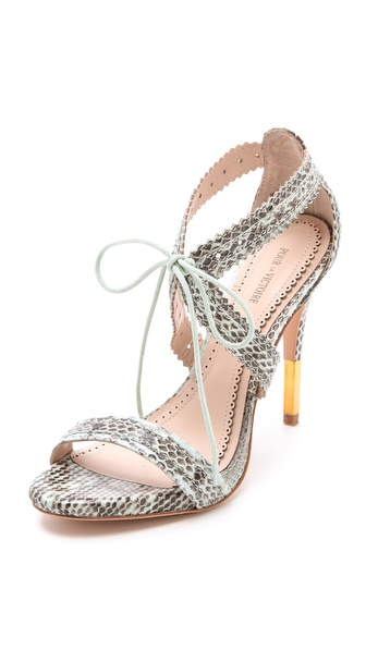 Pour La Victoire Shanna Lace Up Sandals