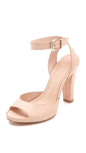 Pour La Victoire Violetta Peep Toe Sandals