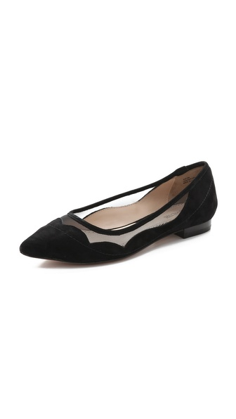 Pour La Victoire Bibi Ballet Flats