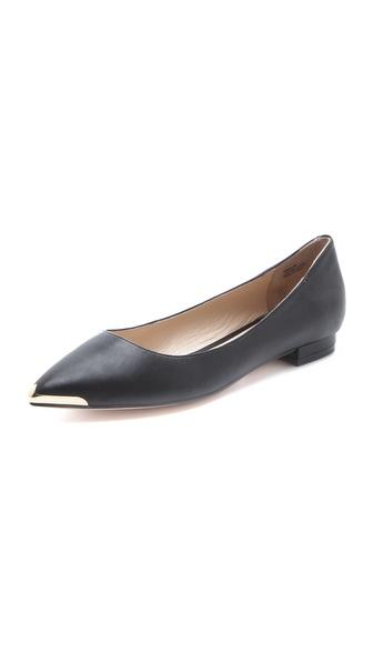 Pour La Victoire Rena Metal Toe Flats