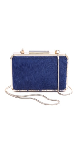 Pour La Victoire Clemence Pony Hair Minaudiere at Shopbop / East Dane