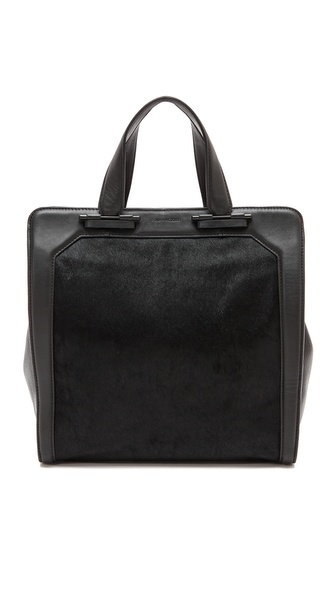 Pour La Victoire Servant Tote with Haircalf