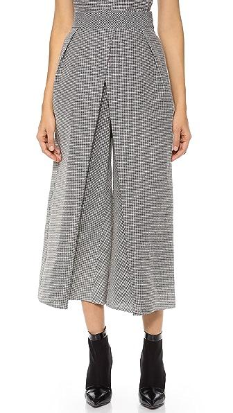 Vika Gazinskaya Front Fold Trousers