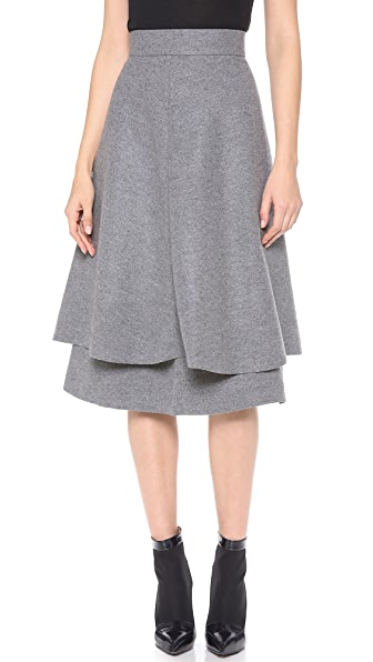 Vika Gazinskaya Layered High Waisted Skirt