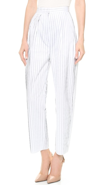 Vika Gazinskaya Striped High Waisted Pants