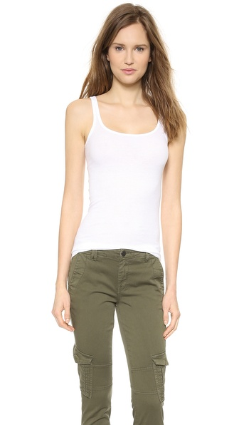 Vince Favorite Tank - White at Shopbop / East Dane