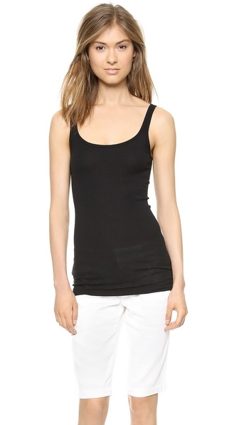 Vince Favorite Tank - Black at Shopbop / East Dane