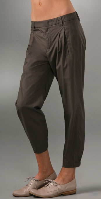 Vince Slouch Pleated Pants