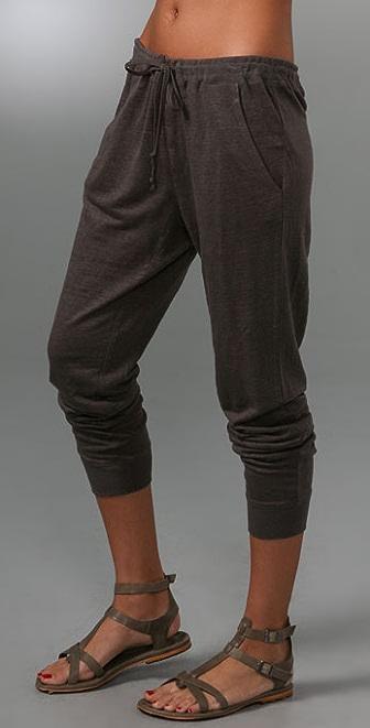 Vince Linen Jersey Sweatpants