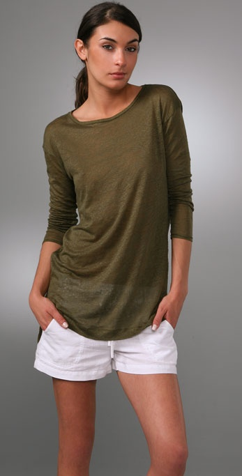 Vince Long Sleeve Tunic