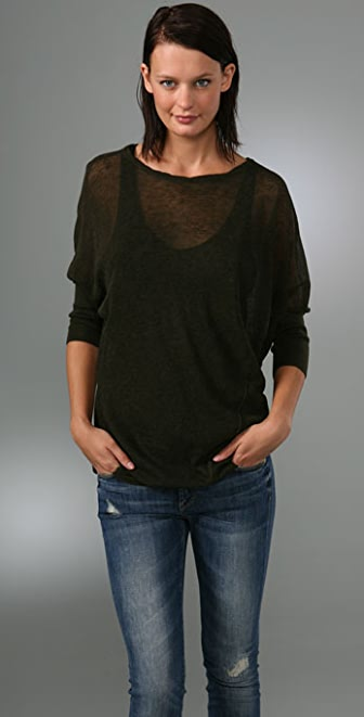 Vince Twisted Seam Sweater