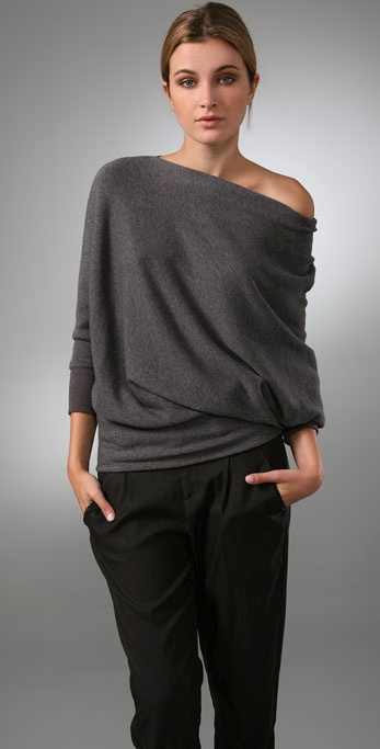 Vince Wedge Tunic Sweater
