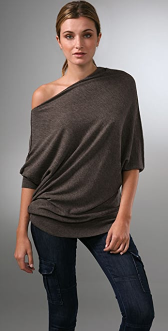Vince Cashmere Wedge Sweater