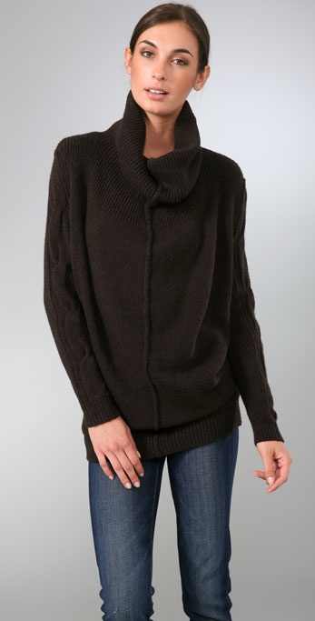 Vince Chunky Cowl Sweater