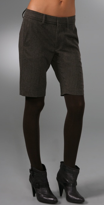 Vince Herringbone Shorts