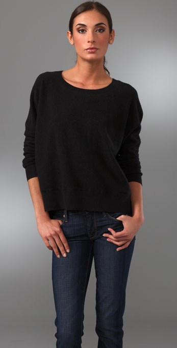 Vince Wide Crop Sweater