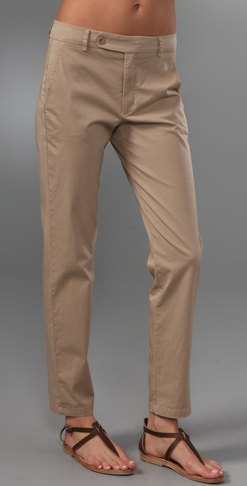 Vince Tab Front Skinny Pants