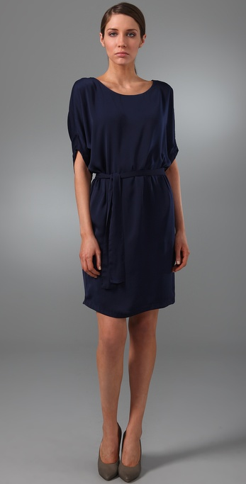 Vince Dolman Sleeve Dress