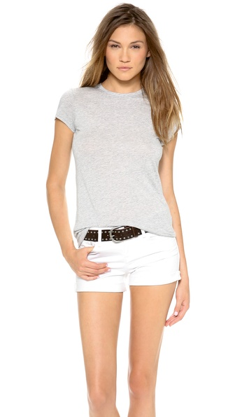 Vince Little Boy Tee - Heather Grey at Shopbop / East Dane