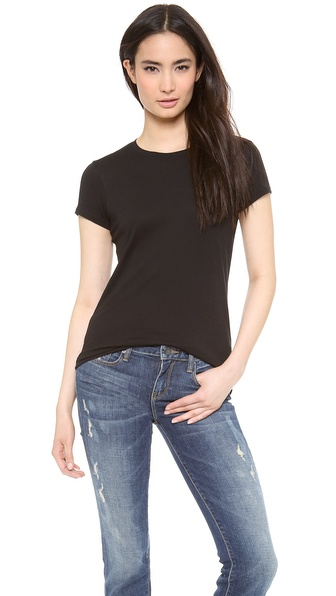Vince Little Boy Tee - Black at Shopbop / East Dane