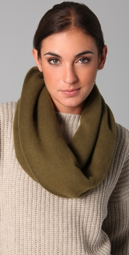 Vince Cashmere Infinity Scarf