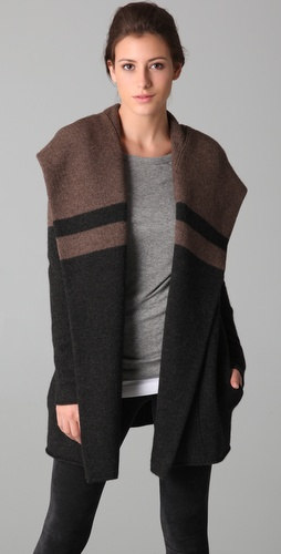 Vince Blanket Sweater Coat