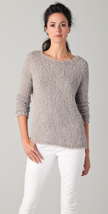 Vince Eyelash Sweater