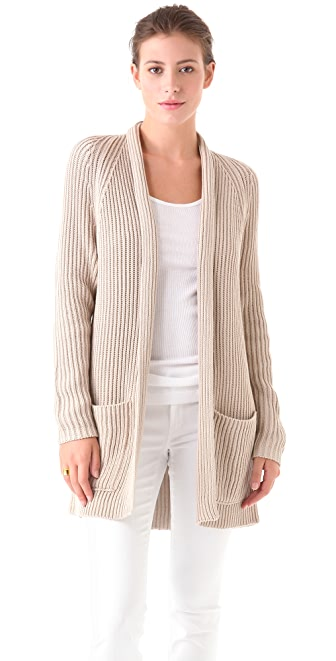 Vince Tucked Stitch Cardigan
