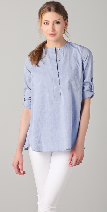 Vince Roll Sleeve Shirt