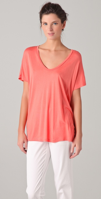 Vince Scoop Neck Tee