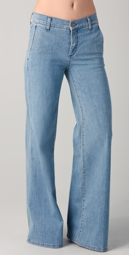 Vince Fonda High Waisted Trouser Jeans
