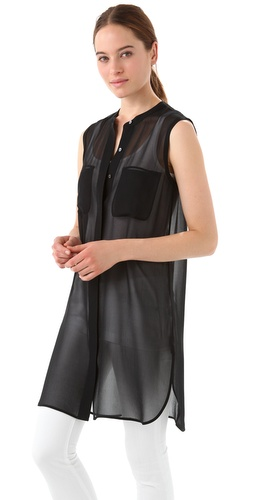 Vince Sheer Tunic