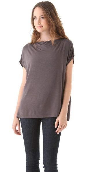 Vince Boat Neck Square Tee