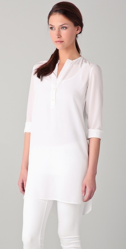 Vince 1/2 Placket Tunic / Dress