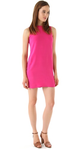 Vince Zip Back Shift Dress