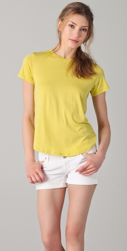 Vince Shirttail Tee