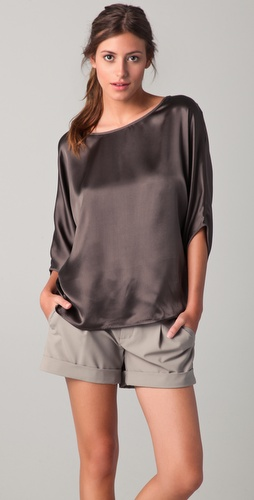 Vince Envelope Sleeve Top