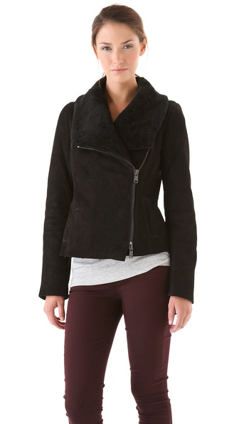 Vince Scuba Shearling Jacket