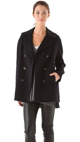Vince Wool Pea Coat