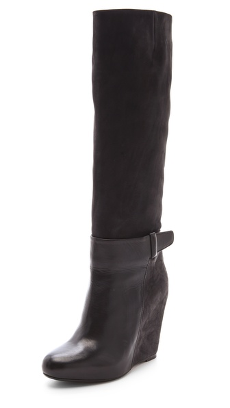 Vince Greta Wedge Boots
