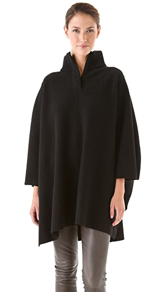Vince Zip Turtlenck Poncho